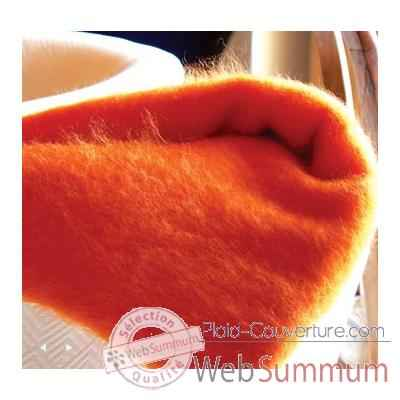 Plaid en mohair Midipy Orange -mid012
